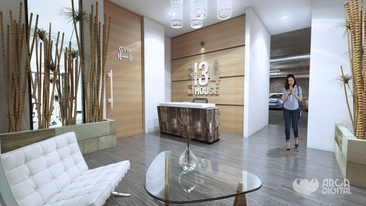 Dual134 House Lobby