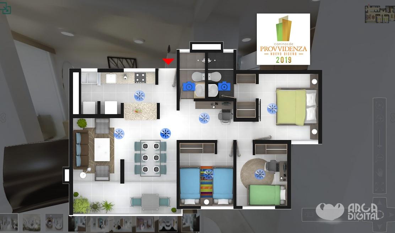 Selección con Plano del apartamento