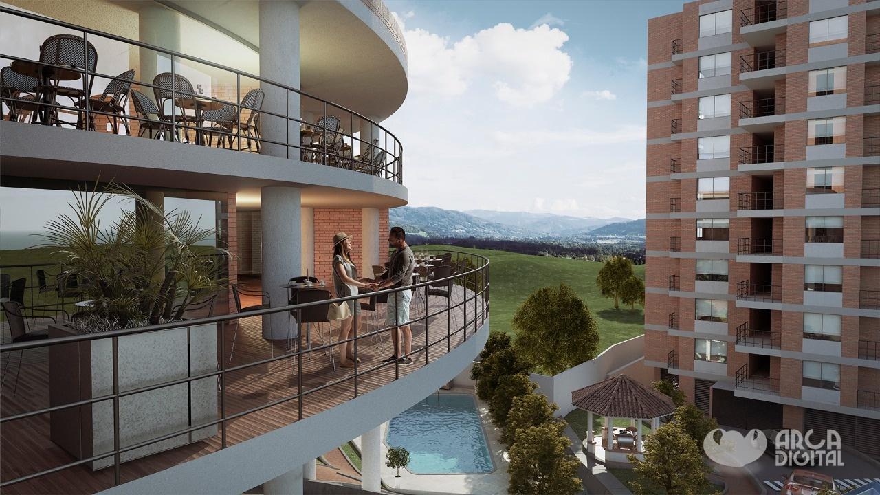Vista balcon